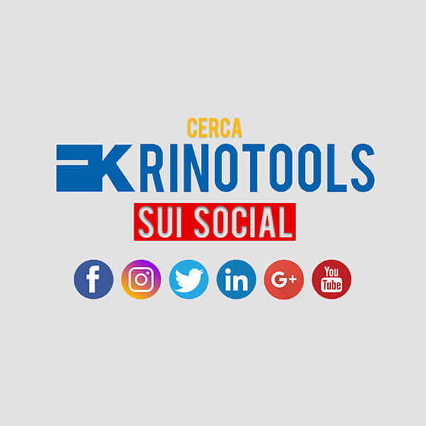 Krino -Seguici sui Social #WeAreSocial #WeAreKrino