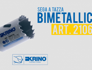 Krino - Video Promo - Sega a tazza Bimetallica - Art. 21060