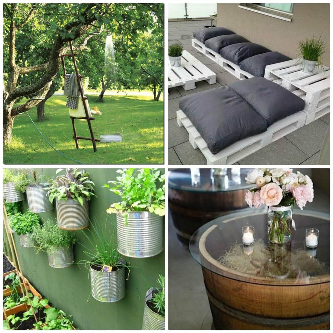 Arredare Con Le Damigiane fai da te in giardino: migliora (con poco) il tuo spazio verde