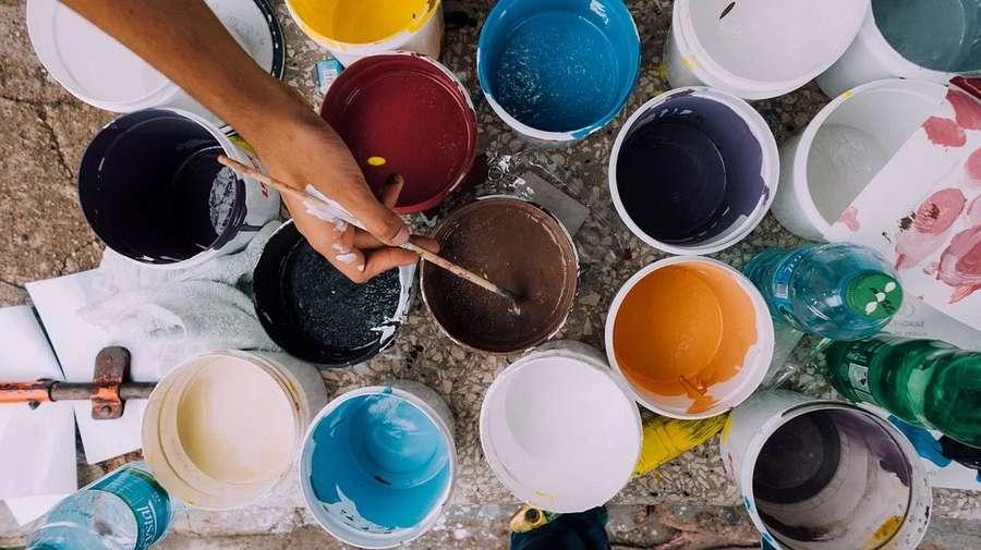 come pulire i pennelli della pittura